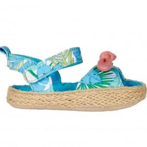 Rosie Pope Tropical Sandals Adorable!! NWT